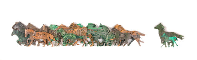 """Mother"" Circuit Board Sculpture"