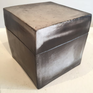 Smoke-fired Box Ceramics by Judy Weeden