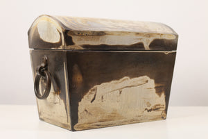 Ceramic Box with Interior Compartments