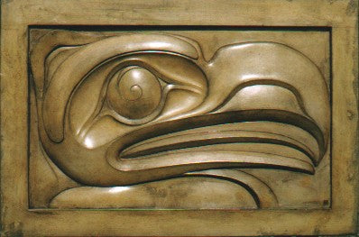 """Thunderbird In Low Relief"""