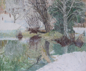 """Winter Pond"""