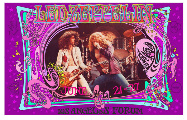 Led Zeppelin – June 21-27, 1977 Los Angeles Forum