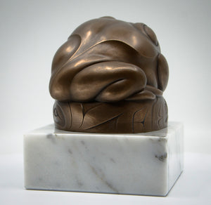 """West Coast Frog"" (on marble)"