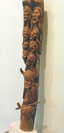 """Spirit Grandmothers & Shaman Pole"""