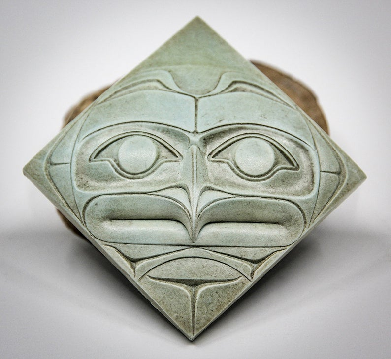 """Owl Plaque"" Green"