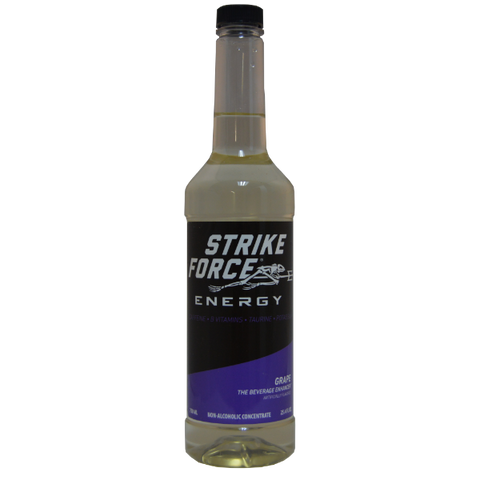 Strike Force Energy 750ml PUMP Bottle - GRAPE