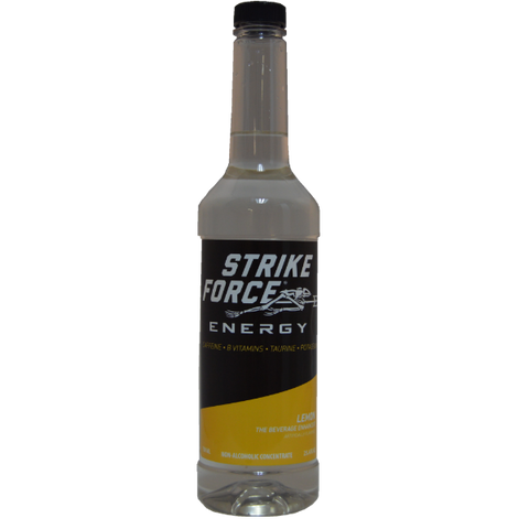 Strike Force Energy 750ml PUMP Bottle - LEMON