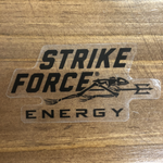 TRANSPARENT STICKER Strike Force Energy