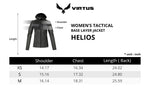 HELIOS HOODED Jacket (FEMALE), VIRTUS Outdoor Group