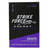Strike Force Energy 'GRAPE' x10 Stick Box