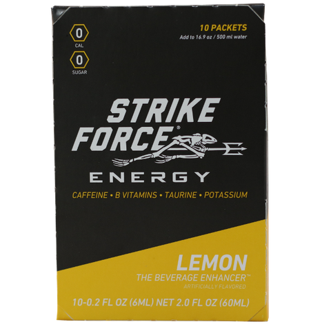 Strike Force Energy 'LEMON' x10 Stick Box