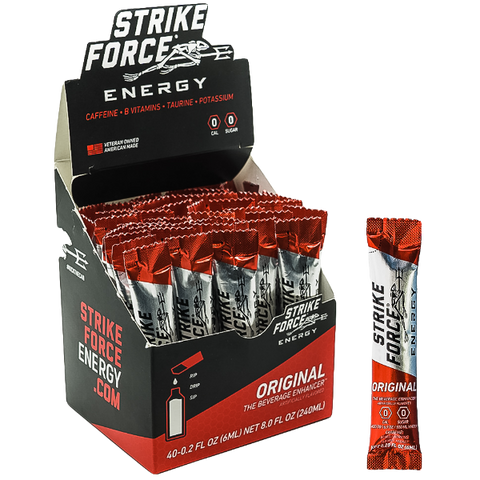 Strike Force Energy X40 Packet Box - ORIGINAL