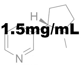 1.5mg/mL Nicotine Base