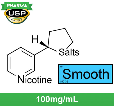 "❄ Nicotine Salts™ ""SMOOTH™"" 100mg/mL ❄ USP Pharma"