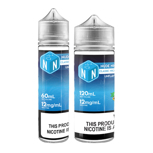 Classic Nicotine Base Unflavored- 12mg/mL