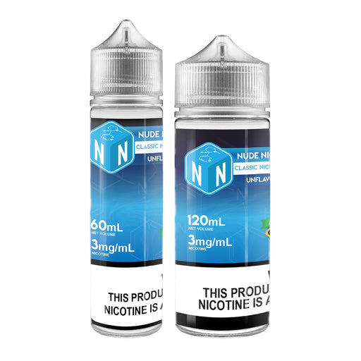 Classic Nicotine Base Unflavored - 3mg/mL