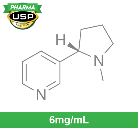❄ Nicotine Base 6mg/mL ❄ USP Pharma