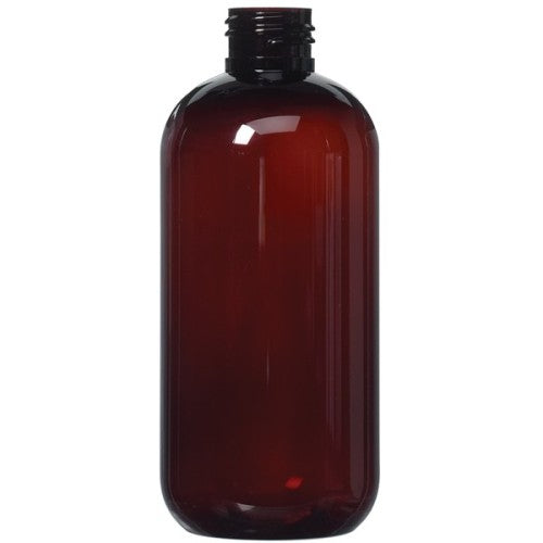 Amber PET Plastic Bottle