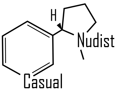 Casual Nudist Nicotine Base