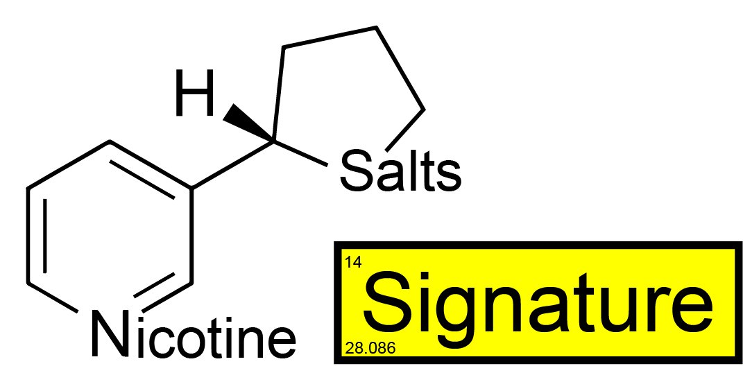 Wholesale Signature™ Nicotine Salts™ - 72mg/mL