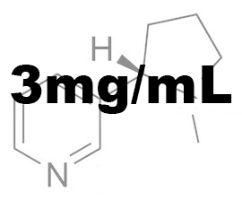 3mg/mL Nicotine Base