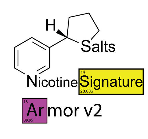 Nude Armor v2 Signature™ Nicotine Salts™ - 48mg/mL