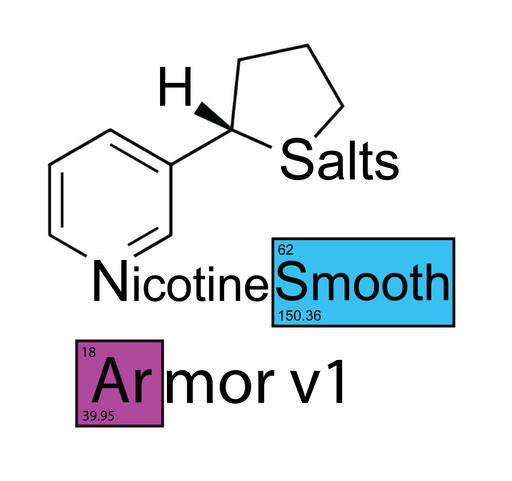 Nude Armor v1 Smooth™ Nicotine Salts™ - 100mg/mL