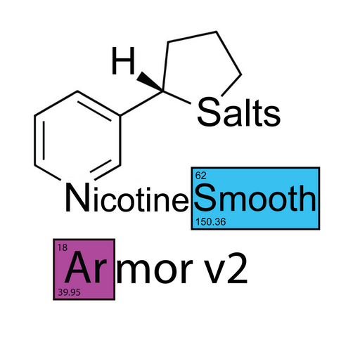 Nude Armor v2 Smooth™ Nicotine Salts™ - 100mg/mL