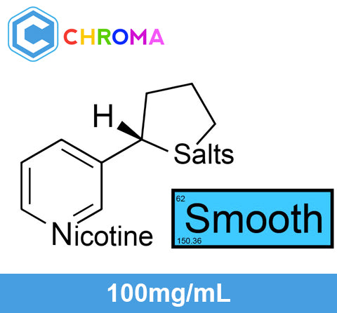 "❄ FIFO Nicotine Salts™ ""SMOOTH™"" 100mg/mL in 100% VG ❄, USP Chroma"