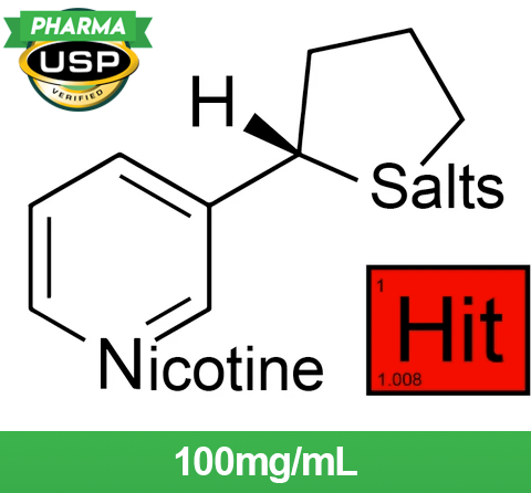 Hit™ Nicotine Salts™ - 100mg/mL, USP Pharma