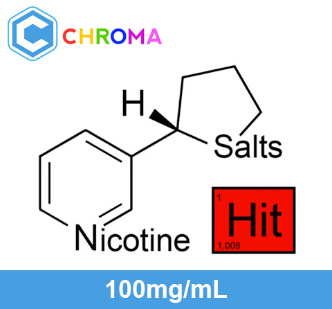 ❄ Hit™ Nicotine Salts™ - 100mg/mL ❄ USP Chroma
