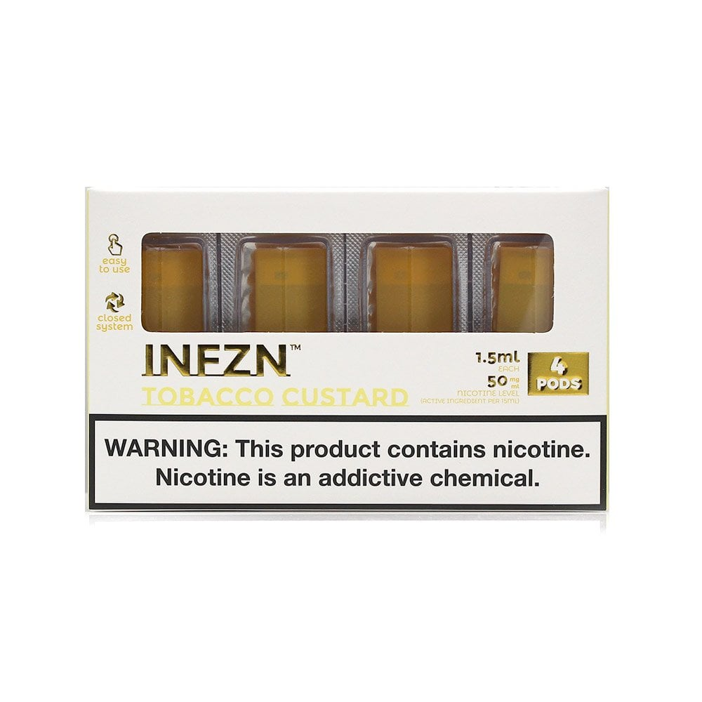 Infzn Tobacco Custard Pod Replacement