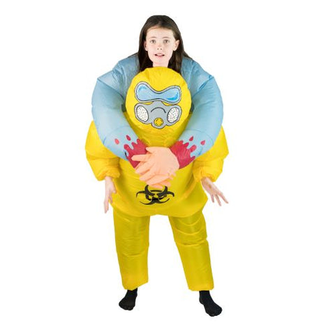Aufblasbares Biohazard Lift You Up® Kostüm Für Kinder