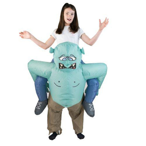 Aufblasbares Lift You Up® Troll Kostüm Für Kinder