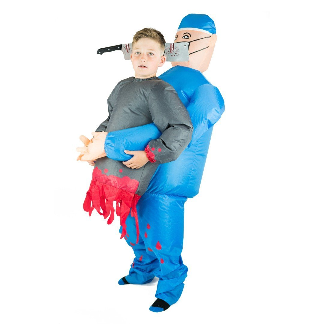 Aufblasbares Lift You Up® Doktor Kostüm für Kinder