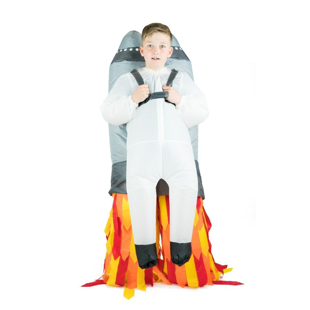 Aufblasbares Lift You Up® Jetpack Kostüm für Kinder