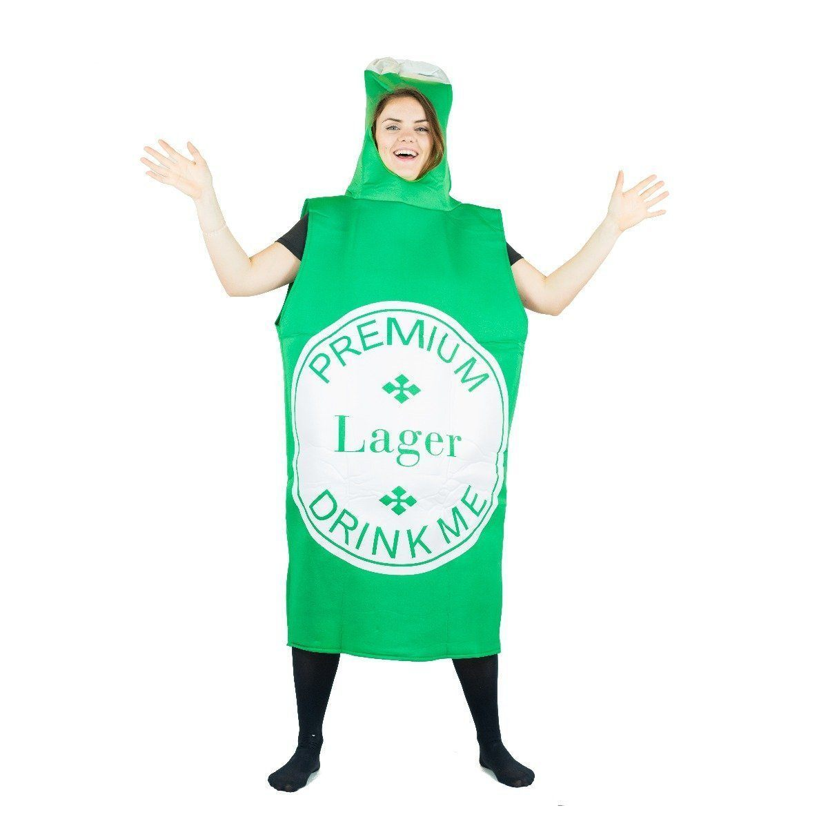 Fancy Dress - Beer Bottle Costume