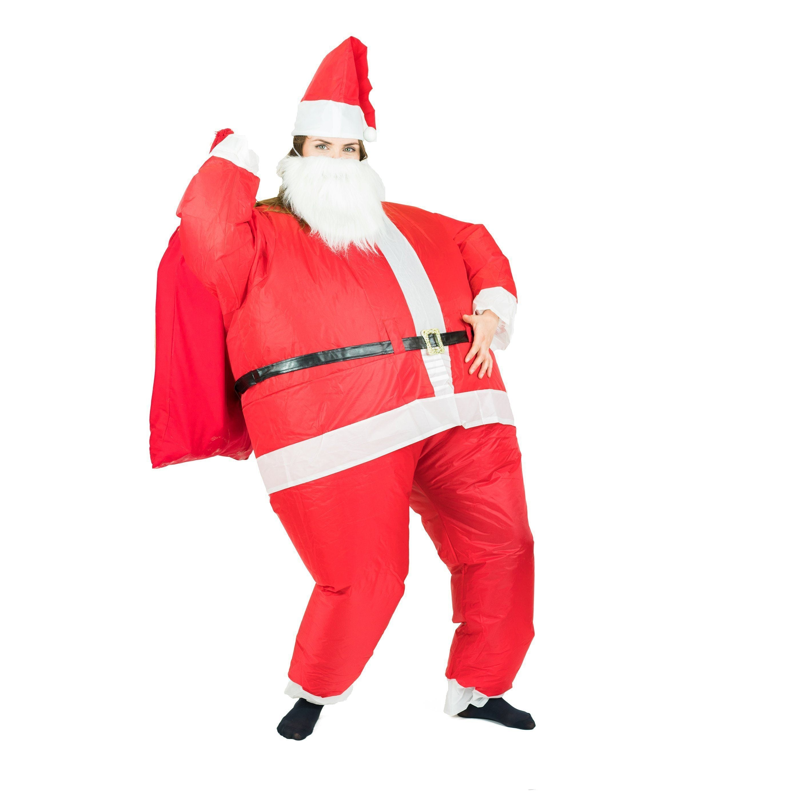 Fancy Dress - Inflatable Santa Costume