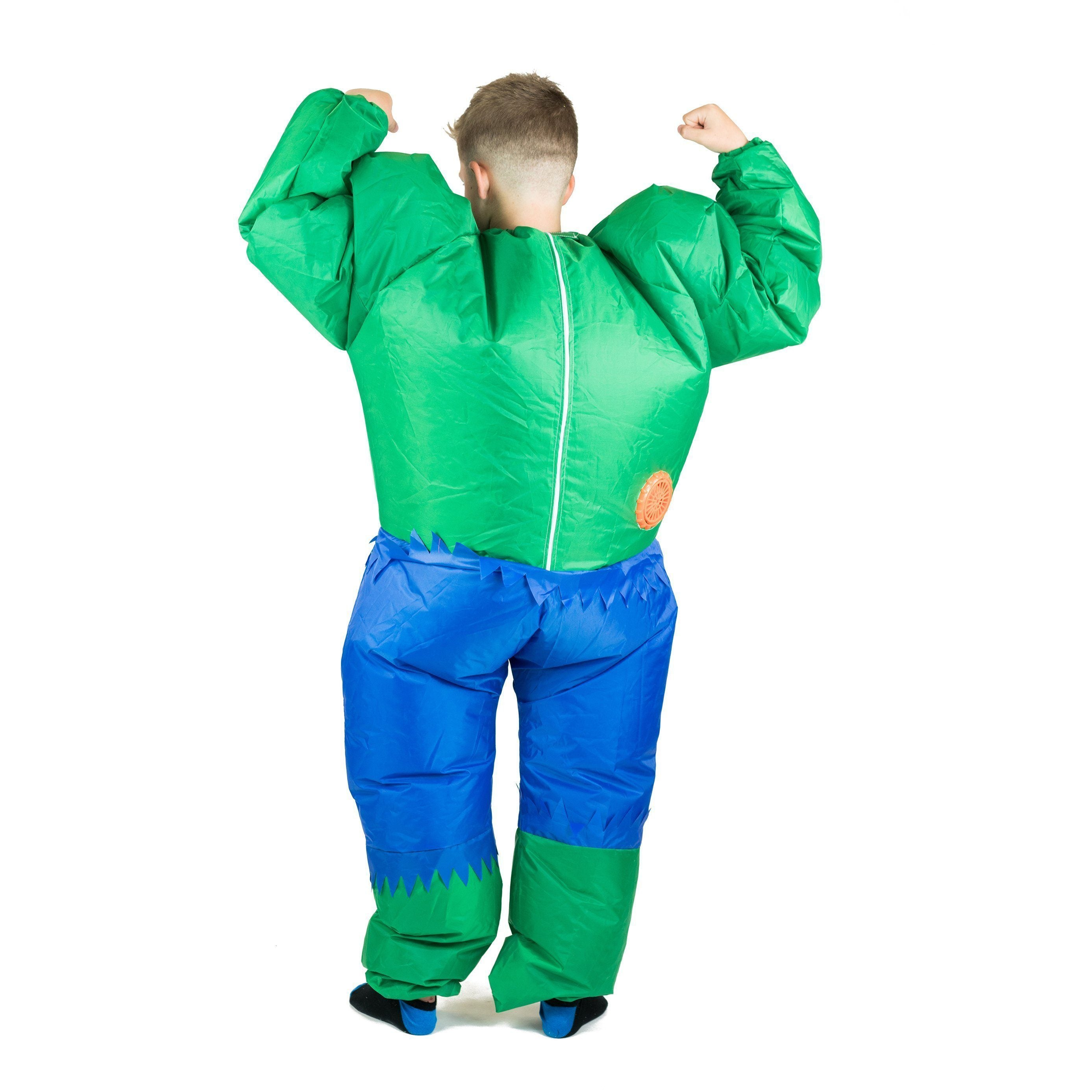 Fancy Dress - Kids Inflatable Hulk Costume