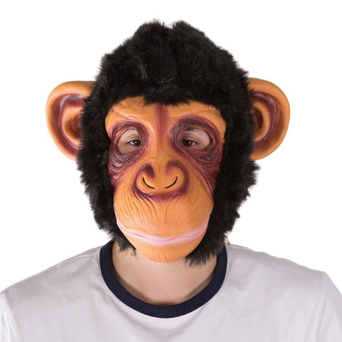 Fancy Dress - Latex Monkey Mask