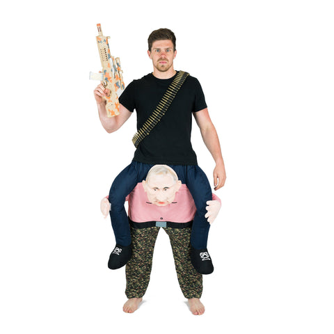 Fancy Dress - Piggyback Vladimir Putin Costume