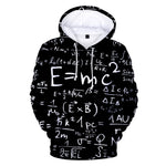 Equations All Over Hoodie