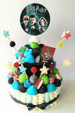 Tarta de chuches Harry Potter