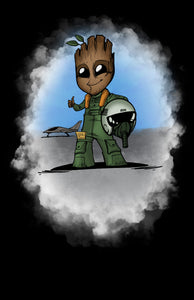 Air Force Pilot Groot