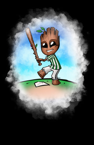 Baseball Player Groot