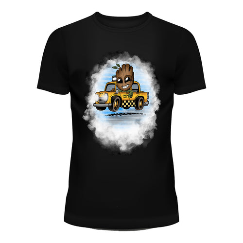 Cab Driver Groot T-Shirt
