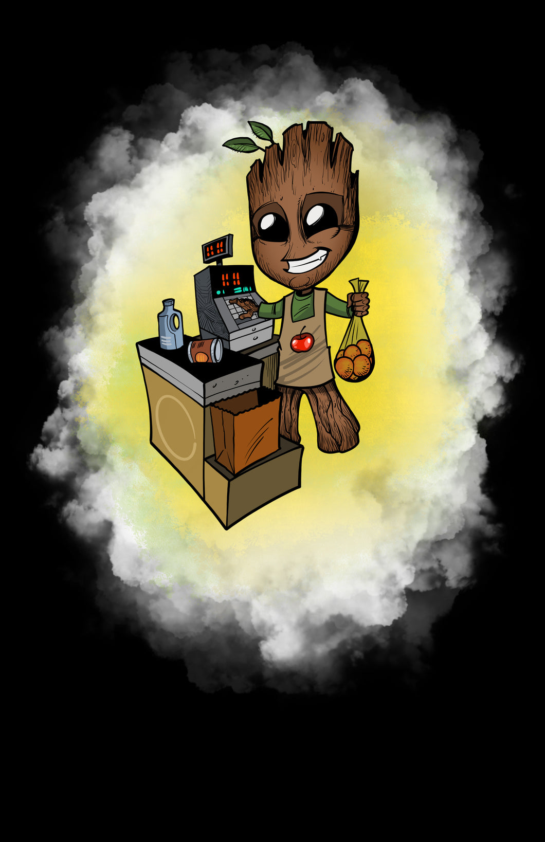 Cashier Groot