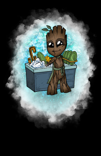 Dishwasher Groot