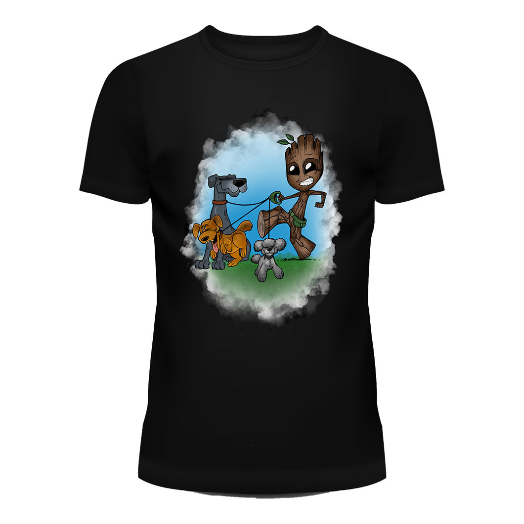 Dog Walker Groot T-Shirt