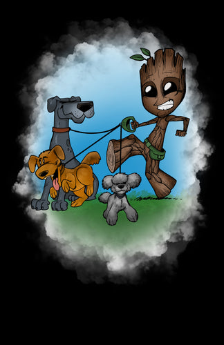 Dog Walker Groot
